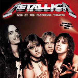 vinyl 2LP METALLICA  Live At Playhouse 1986  Winnipeg, December 13