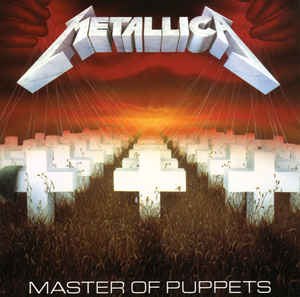 vinyl LP METALLICA Master Of Puppets