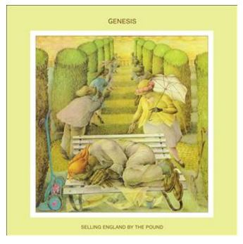 vinyl LP GENESIS Selling England By The Pound