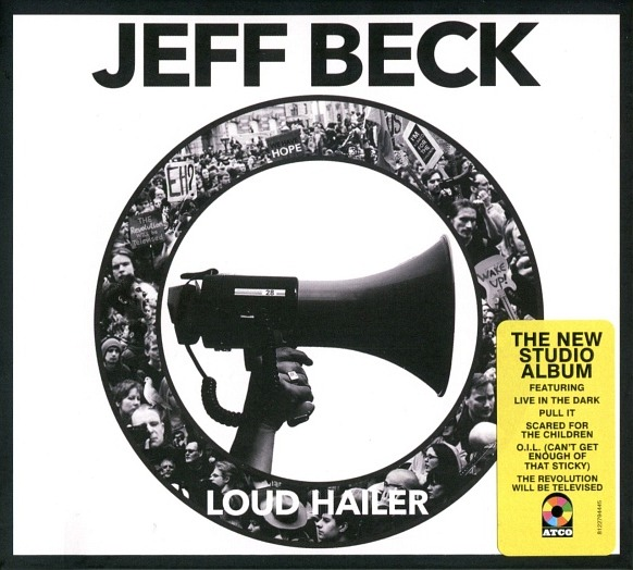 vinyl LP JEFF BECK Loud Hailer