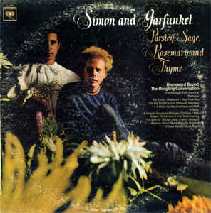 vinyl LP SIMON and GARFUNKEL Parley, Sage, Rosemary and Thyme