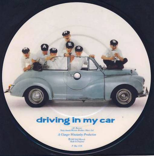 "7""SP MADNESS - Driving In My Car/picture disc"