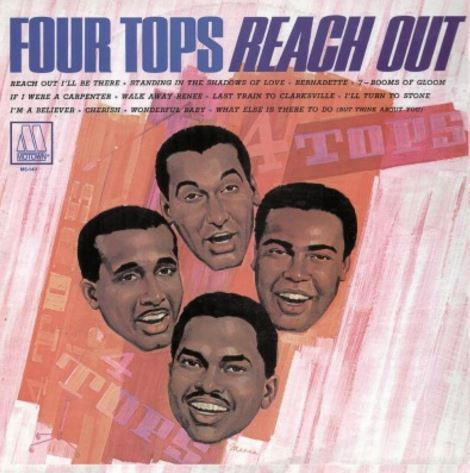 vinyl LP FOUR TOPS Reach Our