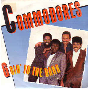 "vinyl 12"" maxi SP COMMODORES Goin´To The Bank"