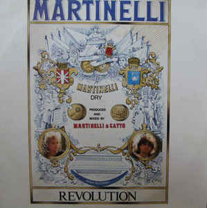 "vinyl 12"" maxi SP MARTINELLI Revolution"