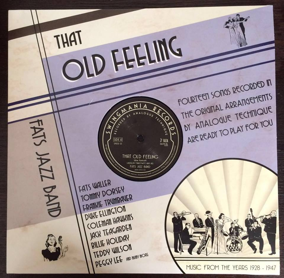 vinyl LP FATS JAZZ BAND That Old Feeling