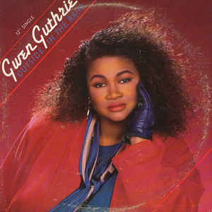 "vinyl 12"" maxi SP GWEN GUTHRIE Outside On The Rain"