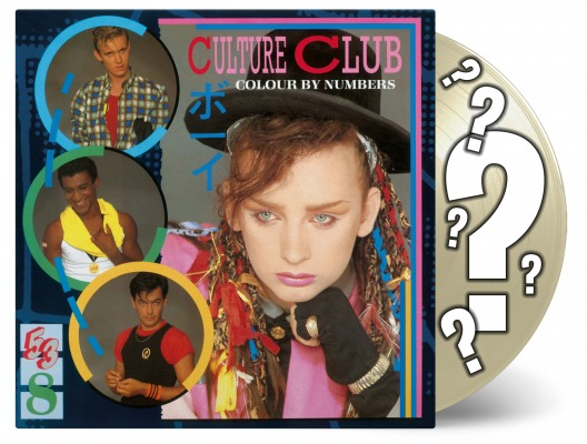 vinyl LP CULTURE CLUB Colour By Numbers