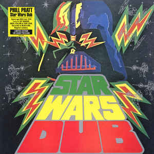 vinyl LP PHILL PRATT Star Wars Dub
