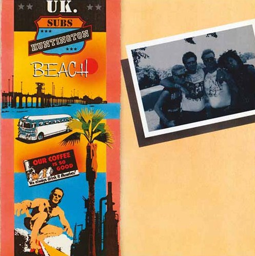 vinyl 2LP UK SUBS Huntington Beach (deluxe)