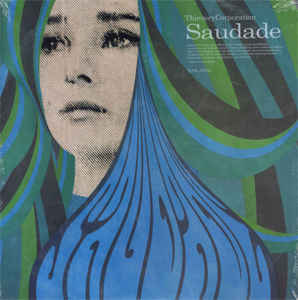 vinyl LP THIEVERY CORPORATION Saudade