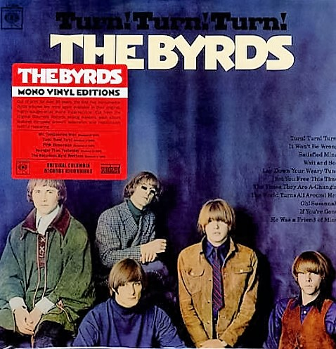 vinyl LP THE BYRDS Turn! Turn! Turn!