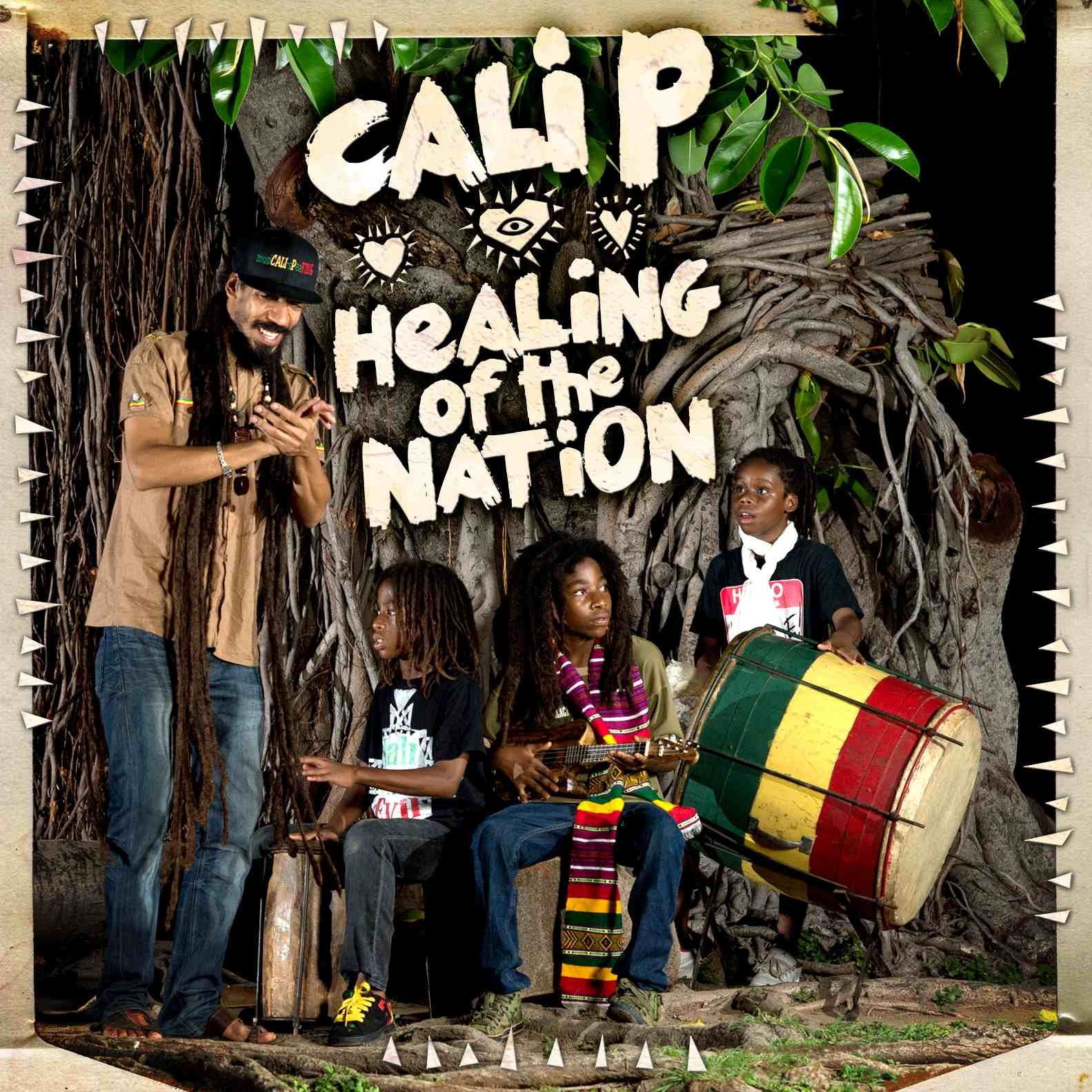 vinyl LP CALI P. Healing of the Nation