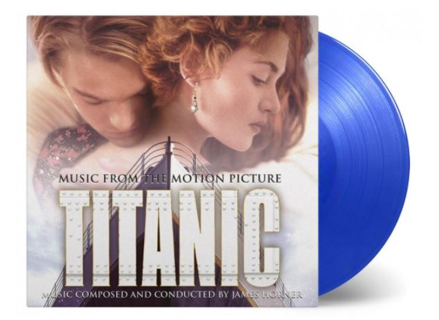 vinyl 2LP TITANIC (soundtrack)