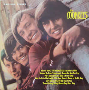 vinyl LP THE MONKEES The Monkees