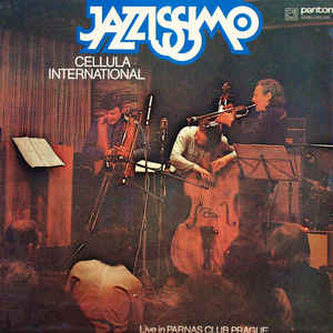 vinyl LP CELLULA INTERNATIONAL Jazzissimo