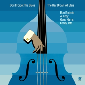 vinyl LP RAY BROWN Don´t Forget The Blues