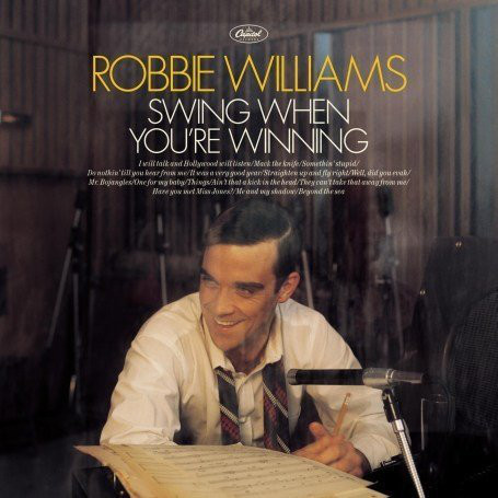 vinyl LP ROBBIE WILLIAMS Swing When You're Winning