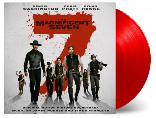vinyl 2LP THE MAGNIFICENT SEVEN (soundtrack)