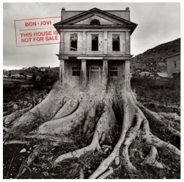 vinyl LP BON JOVI This House is Not For Sale