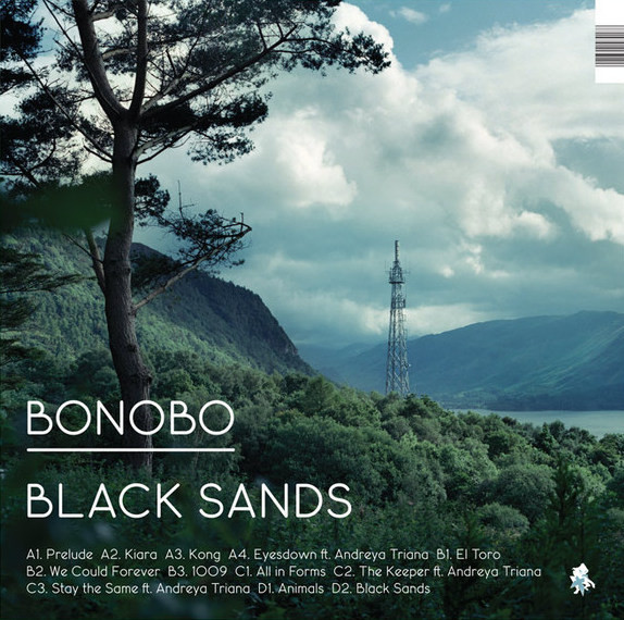 vinyl 2LP BONOBO Black Sands