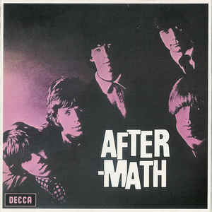 vinyl LP THE ROLLING STONES Aftermath (UK verzia)