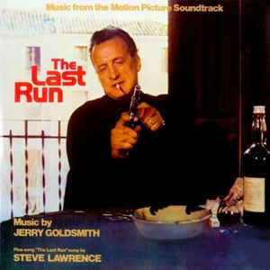vinyl LP JERRY GOLDSMITH The Last Run (soundtrack)
