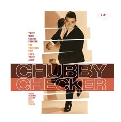 vinyl 2LP CHUBBY CHECKER Twist With Chubby Checker