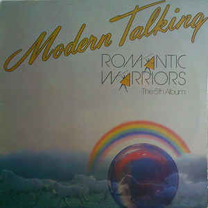 vinyl LP MODERN TALKING Romantic Wariors