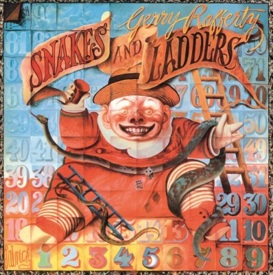 vinyl LP GERRY RAFFERTY Snakes And Ladders