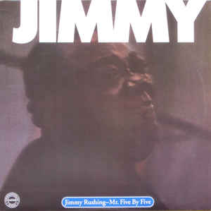 vinyl 2LP JIMMY RUSHING Mr. Five By Five