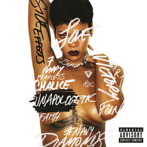 vinyl 2LP RIHANNA Unapologetic
