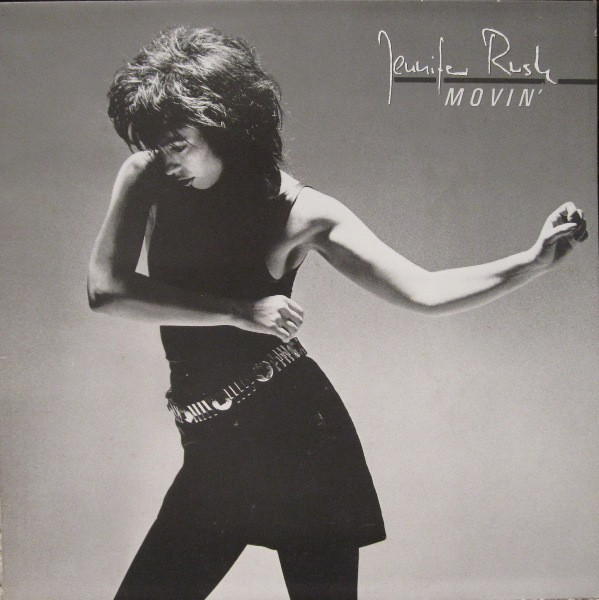 vinyl LP JENIFER RUSH Movin´
