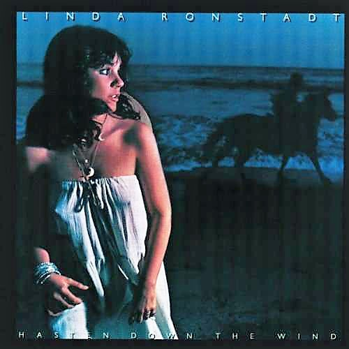 vinyl LP LINDA RONSTADT Hasten Down The Wind