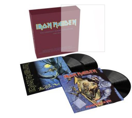 vinyl 3LP set IRON MAIDEN 2017 Collectors Box