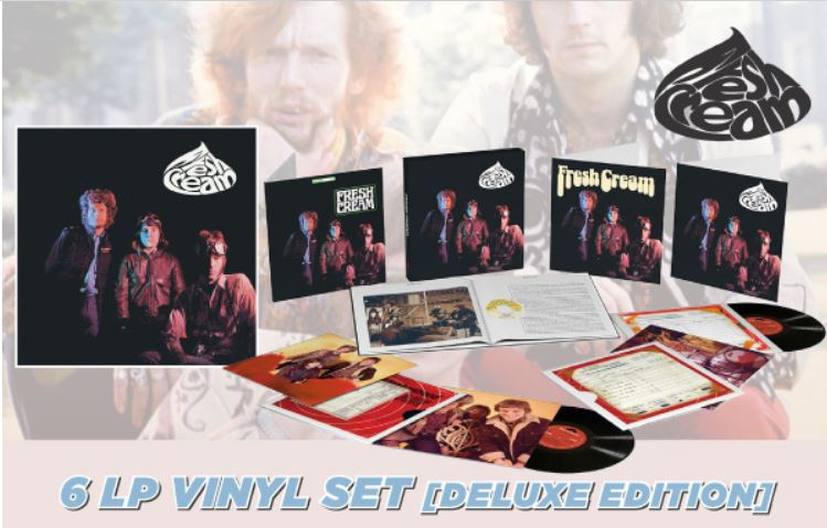 vinyl 6LP set CREAM - Fresh Cream