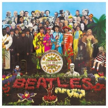 vinyl 2LP THE BEATLES Sgt.Pepper's Lonely Hearts Club Band