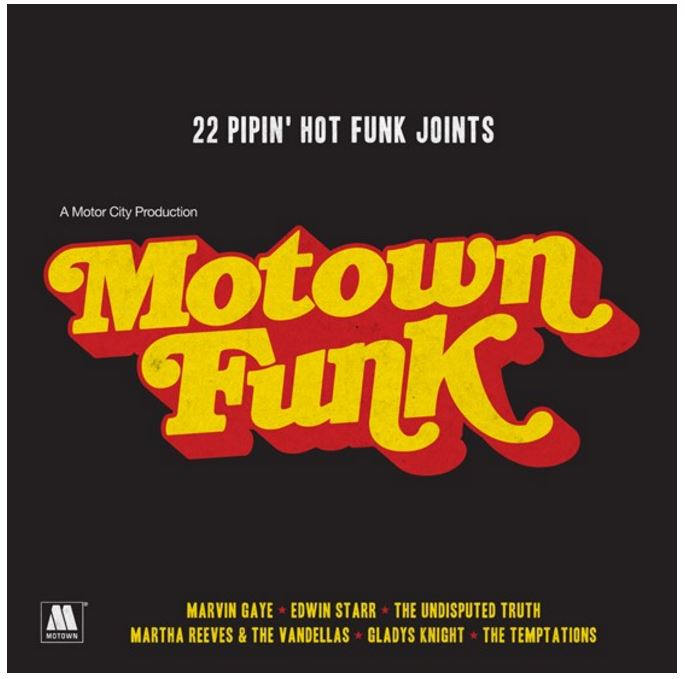vinyl 2LP VARIOUS ARTISTS Motown Funk