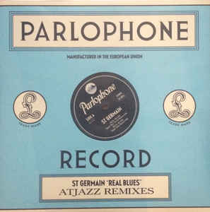 "vinyl 12""SP ST.GERMAIN Real Blues (Atjazz remixes)"