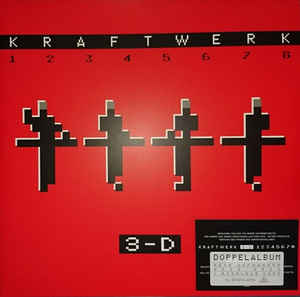vinyl LP KRAFTWERK 3-D THE CATALOGUE (ENG)