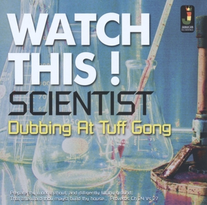 vinyl LP SCIENTIST Watch This-Dubbing At Tuff Gong