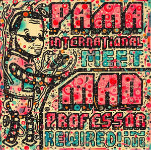 vinyl LP PAMA INTERNATIONAL Rewired! In Dub