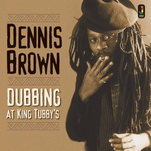 vinyl LP DENNIS BROWN Dubbing At King Tubby