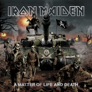 vinyl 2LP IRON MAIDEN A MATTER OF LIFE & DEATH