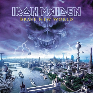 vinyl 2LP IRON MAIDEN BRAVE NEW WORLD