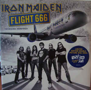 vinyl 2LP set IRON MAIDEN Flight 666