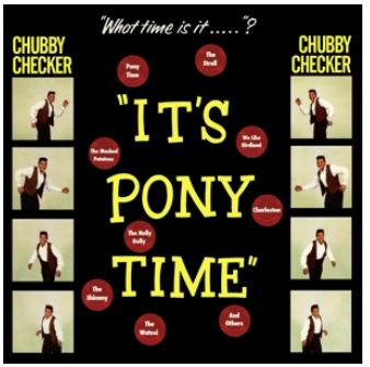 vinyl LP CHUBBY CHECKER It's Pony Time