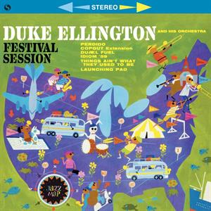 vinyl LP DUKE ELLINGTON Festival Session