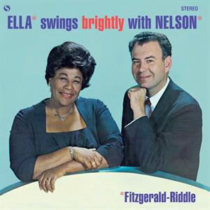 vinyl LP ELLA FITZGERALD Ella Swings Brightly With Nelson