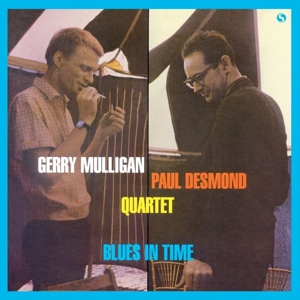 vinyl LP GERRY MULLIGAN & PAUL DESMOND Blues In Time